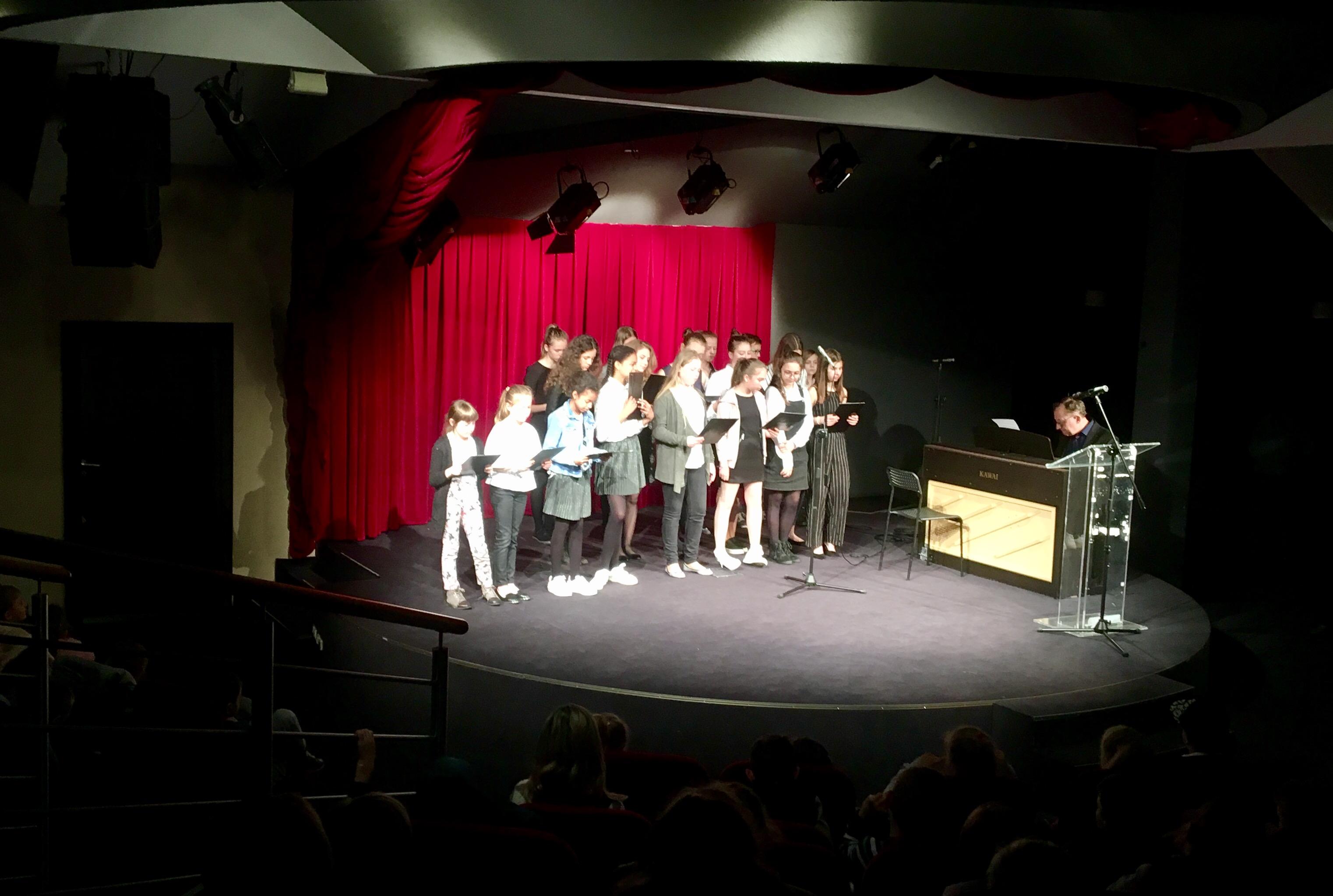 Występ Szkoły Muzycznej